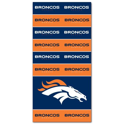 Denver Broncos NFL Bandana Superdana Neck Gaiter Face Guard Mask
