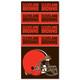 Cleveland Browns NFL Bandana Superdana Neck Gaiter Face Guard Mask