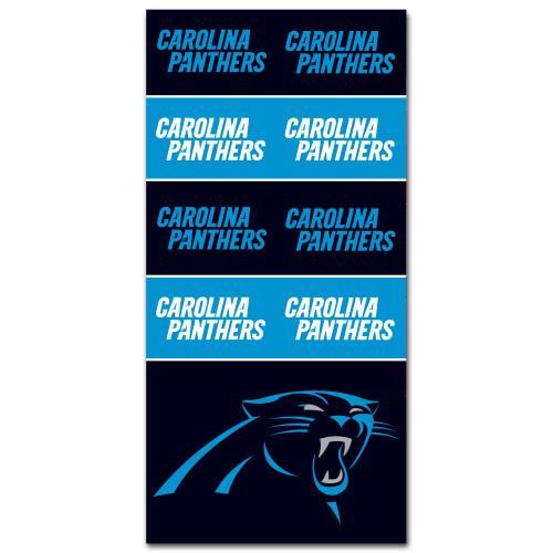 Carolina Panthers NFL Bandana Superdana Neck Gaiter Face Guard Mask