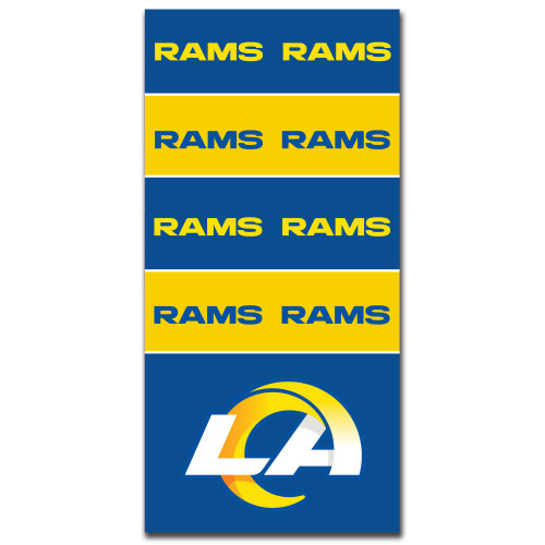 Los Angeles Rams NFL Bandana Superdana Neck Gaiter Face Guard Mask