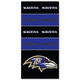 Baltimore Ravens NFL Bandana Superdana Neck Gaiter Face Guard Mask