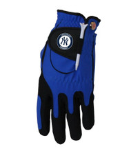 Zero Friction MLB New York Yankees Blue Golf Glove, Left Hand
