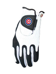 Zero Friction MLB Chicago Cubs White Golf Glove, Left Hand