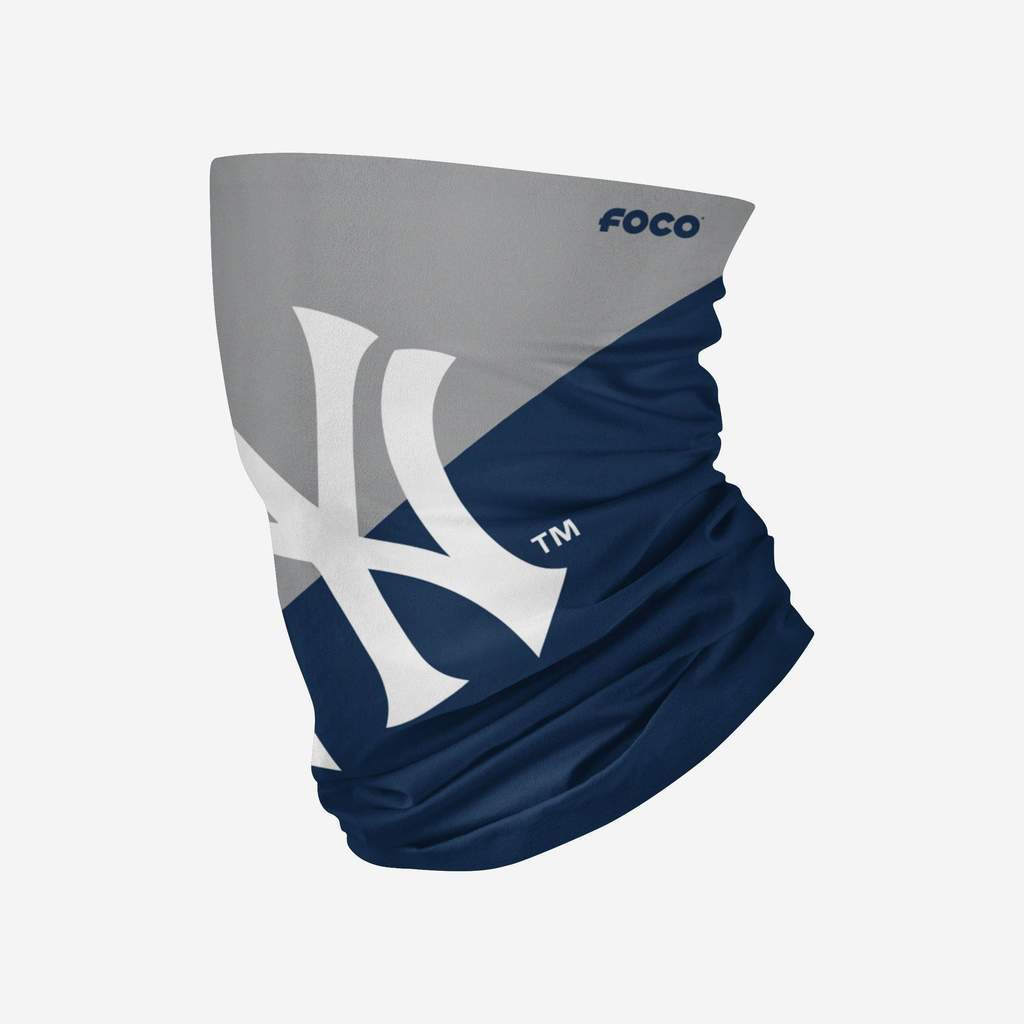New York Yankees Mlb Neck Gaiter Scarf Face Guard Mask Head Covering