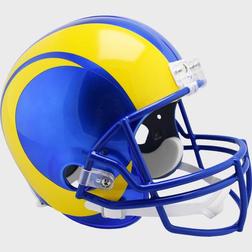 Los Angeles Rams New 2020 Riddell Full Size Replica Football Helmet