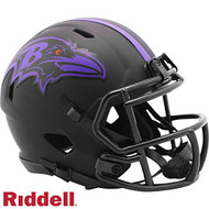 Baltimore Ravens 2020 Black Revolution Speed Mini Football Helmet