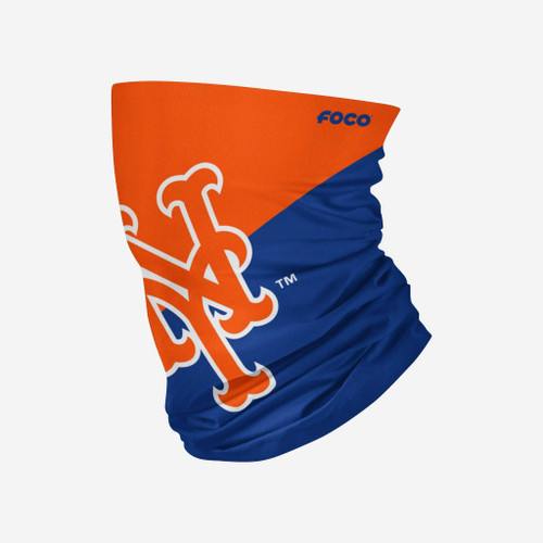 New York Mets MLB Neck Gaiter Scarf Face Guard Mask Head Covering