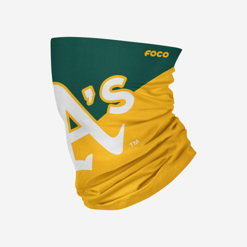 Oakland A's Athletics MLB Neck Gaiter Scarf Face Guard Mask Head Covering