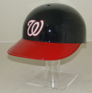 Washington Nationals Blue with Red bill No Ear Covered Full Size Baseball Batting Helmet
