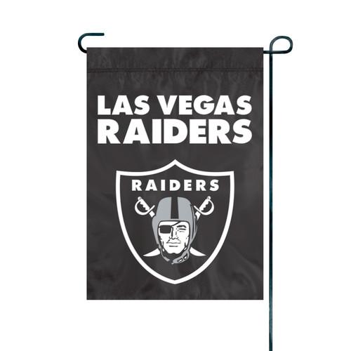 """Las Vegas Raiders NFL Premium Garden Flag 18"""" x 12.5"""""""
