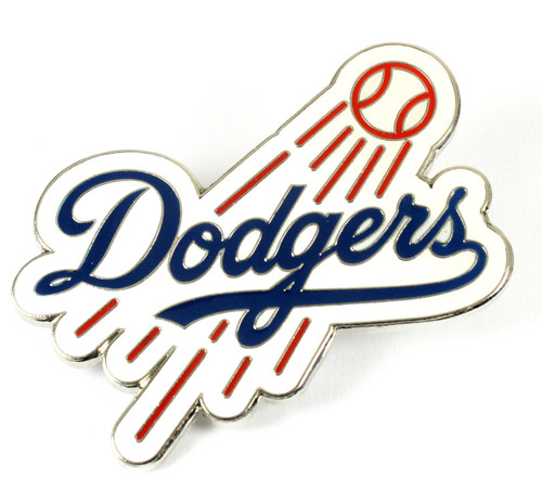 "Los Angeles Dodgers MLB Jumbo Grande 2"" Lapel Pin"
