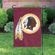 """Washington Redskins NFL Premium Garden Flag 18"""" x 12.5"""" in Garden"""