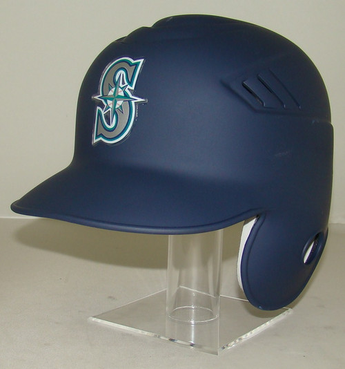 Seattle Mariners Matte Rawlings LEC Full Size Baseball Batting Helmet