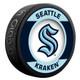 Seattle Kraken NHL Inglasco Souvenir Retro Puck