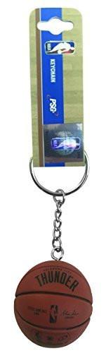 NBA Oklahoma City Thunder Hard Basketball Key Tag Keychain
