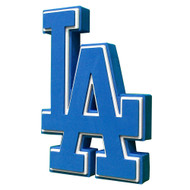 Los Angeles Dodgers 3D Fan Foam Logo Sign