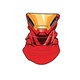 Marvel Iron Man Ironman Neck Gaiter Scarf Face Guard Mask Head Covering