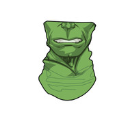 Marvel Incredible Hulk Neck Gaiter Scarf Face Guard Mask Head Covering