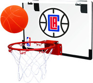Los Angeles Clippers NBA Game On Slam Jam Polycarbonate Mini Basketball Indoor Hoop Set