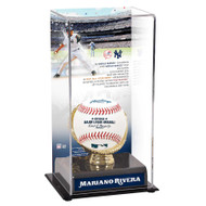 Mariano Rivera New York Yankees 2019 Baseball Hall of Fame Baseball Display Case with Gold Glove Holder