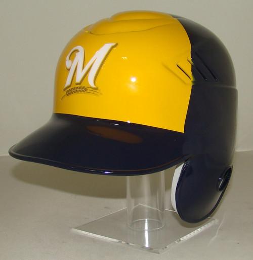 MILWAUKEE BREWERS New 2020 Logo Coolflo Style MLB Baseball Batting Helmet