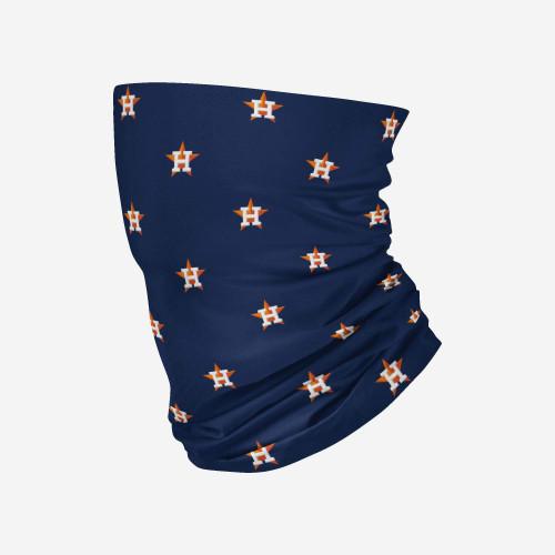 Houston Astros MLB Neck Gaiter Mini Logo Scarf Face Guard Mask Head Covering