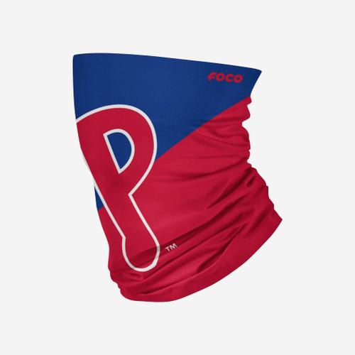 Philadelphia Phillies MLB Neck Gaiter Scarf Face Guard Mask Head Covering