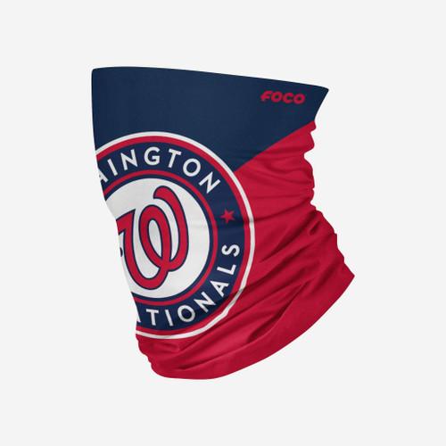 Washington Nationals MLB Big Logo Neck Gaiter Scarf Face Guard Mask Head Covering