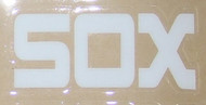CHICAGO WHITE SOX 1980's MLB Full Size Baseball Batting Helmet 3M Sticker Decal