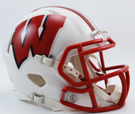 Wisconsin Badgers NCAA Revolution SPEED Mini Helmet
