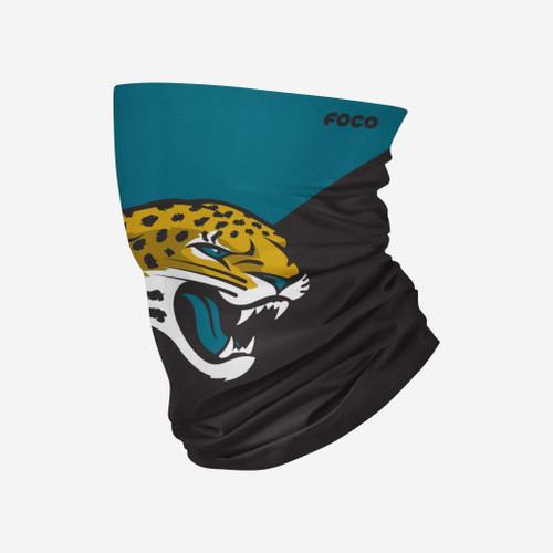 Jacksonville Jaguars NFL Big Logo Neck Gaiter Scarf Face Guard Mask Head Covering