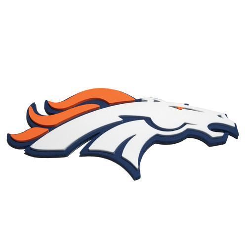 Denver Broncos EVA Foam 3D NFL Magnet