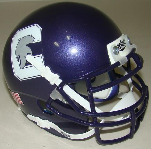Capital University Crusaders NCAA Schutt Mini Authentic Football Helmet