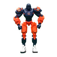 "Chicago Bears NFL Football Fox Sports Cleatus 10"" Action Figure Robot"