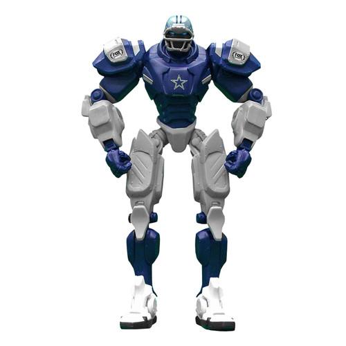 "Dallas Cowboys NFL Football Fox Sports Cleatus 10"" Action Figure Robot"