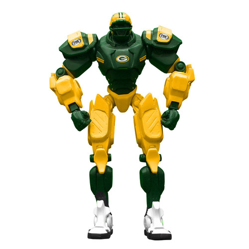 "Green Bay Packers NFL Football Fox Sports Cleatus 10"" Action Figure Robot"