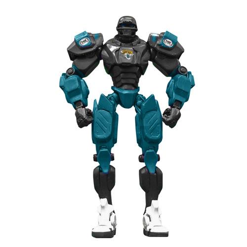 "Jacksonville Jaguars NFL Football Fox Sports Cleatus 10"" Action Figure Robot"