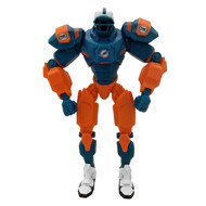 "Miami Dolphins NFL Football Fox Sports Cleatus 10"" Action Figure Robot"