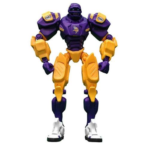 "Minnesota Vikings NFL Football Fox Sports Cleatus 10"" Action Figure Robot"