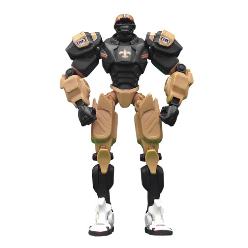 "New Orleans Saints NFL Football Fox Sports Cleatus 10"" Action Figure Robot"