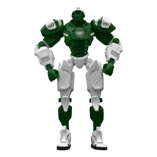 """New York Jets NFL Football Fox Sports Cleatus 10"""" Action Figure Robot"""