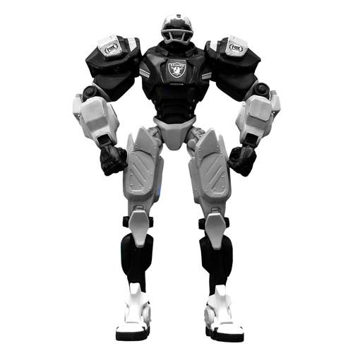 "Las Vegas Raiders NFL Football Fox Sports Cleatus 10"" Action Figure Robot"