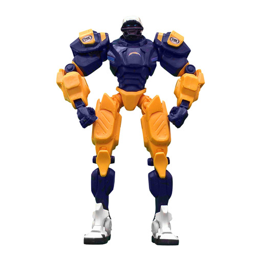 "Los Angeles Chargers NFL Football Fox Sports Cleatus 10"" Action Figure Robot"