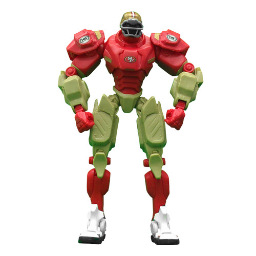 "San Francisco 49ers NFL Football Fox Sports Cleatus 10"" Action Figure Robot"