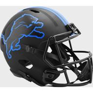 Detroit Lions 2020 Black Speed Replica Full Size Football Helmet