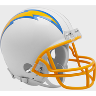 Los Angeles Chargers New 2020 VSR4 Mini Football Helmet