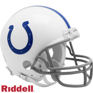 Indianapolis Colts New 2020 VSR4 Mini Football Helmet