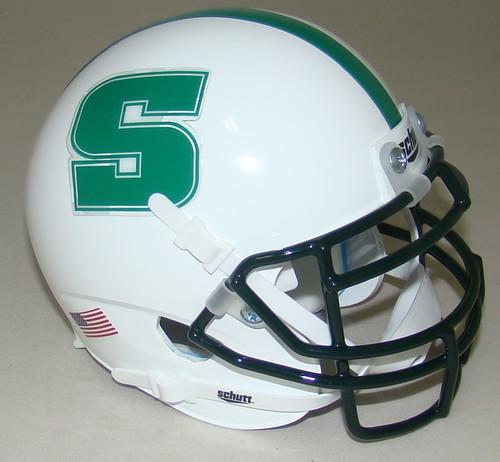 Slippery Rock Rockets NCAA Schutt Mini Authentic Football Helmet