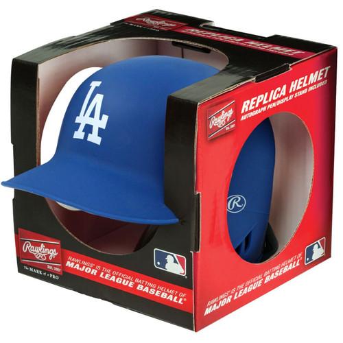 Los Angeles Dodgers Matte Blue MLB Rawlings Replica MLB Baseball Mini Helmet