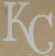 Kansas City Royals FULL SIZE HELMET 3M STICKER DECAL